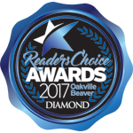 Oakville Beaver Diamond Winner 2017